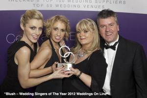 Blush Wedding Band Winners 2012